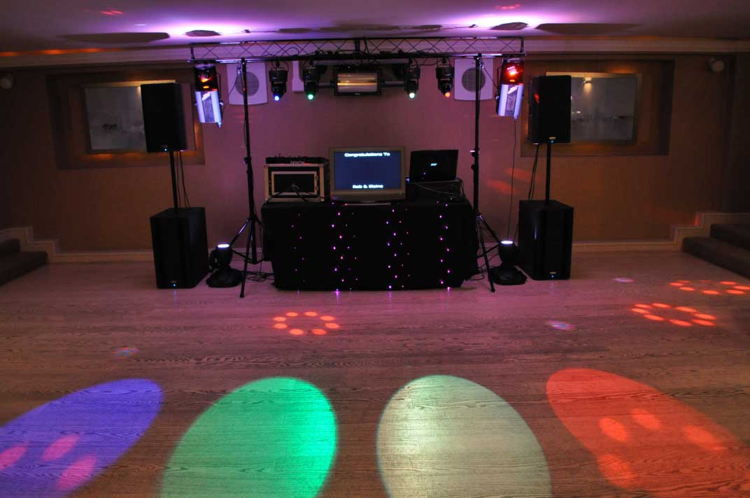 Mobile disco equipment PAT tested for safety